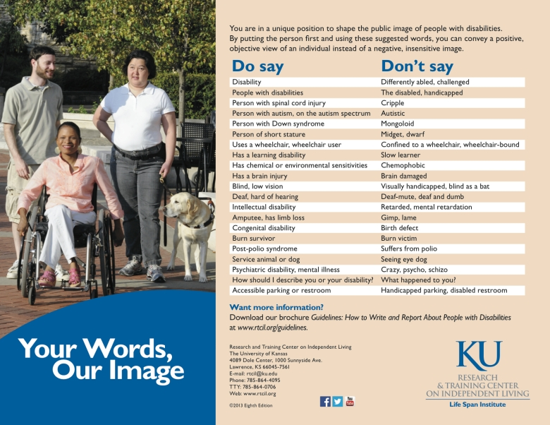 Provided by Student Services of KU for people with disabilities
